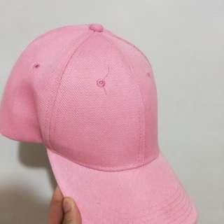 二手 僅試戴 粉色鴨舌帽