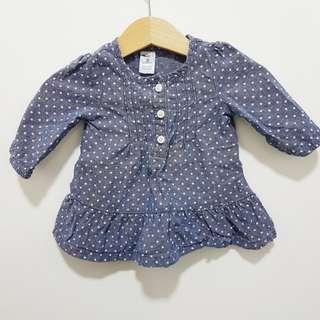 carter's baby denim dress