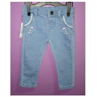 12m Just Jeans Soft Denim w/ Adjustable Waistband