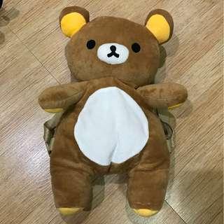 teddy bear stuff toys backpack