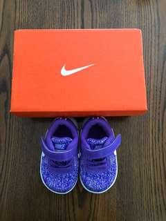 NIKE Kids Purple Sport Shoes