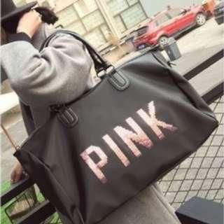 Free Shipping Pink Travel Bag