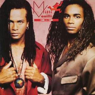 Vg+ milli vanilli record vinyl pop comp