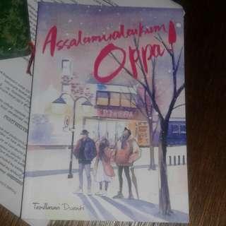 Novel Assalamu'alaikum Oppa