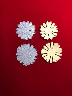 Flowers scrapbooking Cutting Dies 2pc