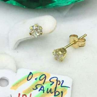 Sale!!! 18k saudi gold earring