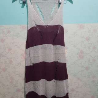 Knitted long dress