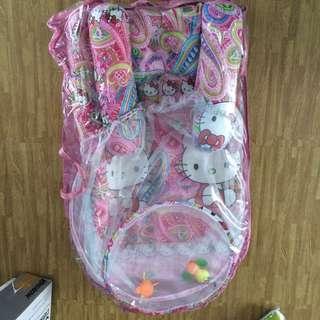 FREEONG Matras kasur kelambu portable bayi