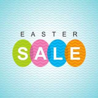 EASTER SALE on MARCH 24-APRIL 1,2018