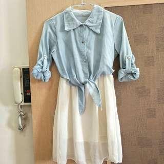 紡紗裙(適合海邊)