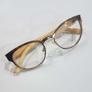 Sunnies Gold Specs