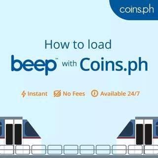 Load beep cards with Coins