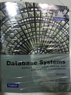 Database Systems : Global Edition