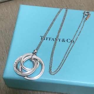 原價$2850 Tiffany 1837 Interlocking Circles Necklace