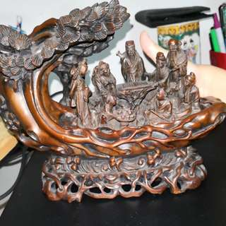 antique carving