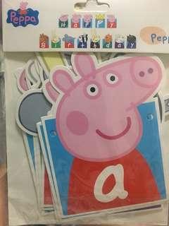 佩佩豬生日快樂卡🎂