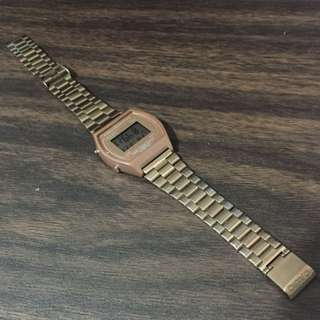 Casio Rose Gold Watch