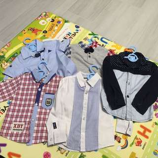 1歲-2歲恤衫