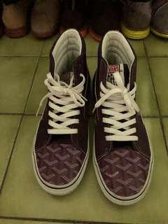 🚚 Vans goyard 客製 鞋 us 9.5