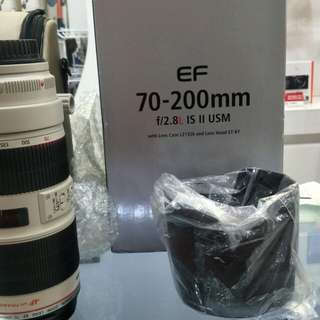 Canon 70-200mm F2.8  L IS ii USM