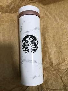 韓國 星巴克大理石保溫瓶