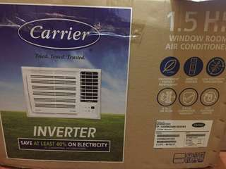 Carrier 1.5 HP Inverter A/C Window Type