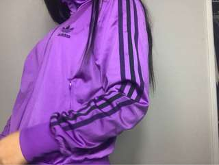 ADIDAS originals purple jumper