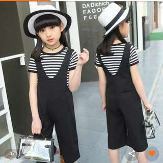 Brand New Girl jumpsuit/overall