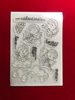 Cupid scrapbooking Clear Stamp
