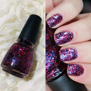 China Glaze Nail Polish Be Merry Be Bright