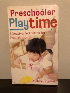 Preschooler Playtime Creative Activities For Fun at Home