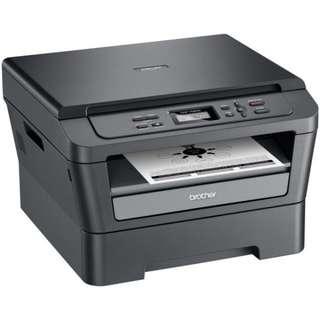 Brother Laser Printer DCP-7060D w drum n ink cartridge