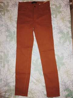 High waist fitted pants trafaluc collection