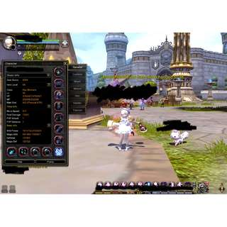 Dragon Nest Sea Top Geared account for Sale (2 in 1!)(Gears constantly updated daily until sold)