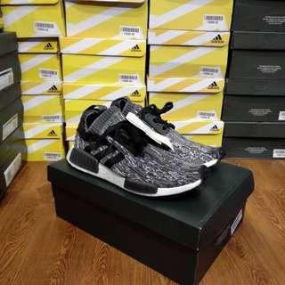 Adidas NMD R1 Primeknit Glitch Camo Black