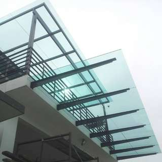 T Beam Glass Roof