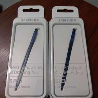 Note 8 spen blue