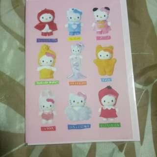 Hello Kitty plain greeting cards