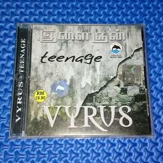🆒 Vyrus - Teenage [2003] Tamil Audio CD