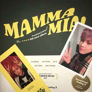 WTT Want to trade SF9 Mamma Mia Special Edition Album photocards