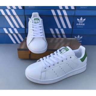愛迪達 Adidas StanSmith綠尾小白鞋
