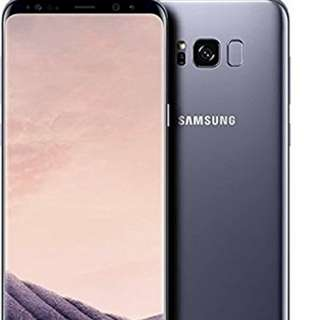 S8+ orchid gray 128gb