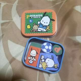 Pochacco Eraser with container