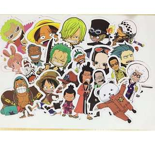 One Piece Laptop Stickers