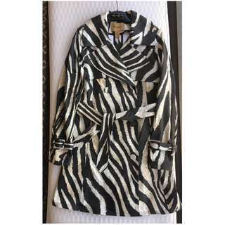 Roberto Cavalli at H&M trench coat