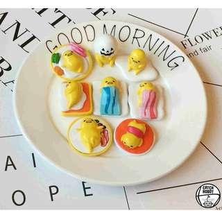 CR Lifestyle 蛋黃哥 蛋殼 培根 吐司 蛋包飯 蛋黃哥套組 蛋黃哥家族 玩具控擺設 小擺飾 居家裝飾 玩具