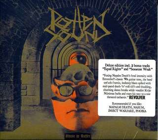 Rotten Sound - Abuse to suffer grindcore cd