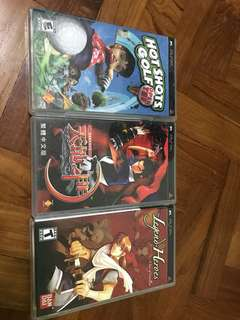 Ps2, GameCube and PSP games