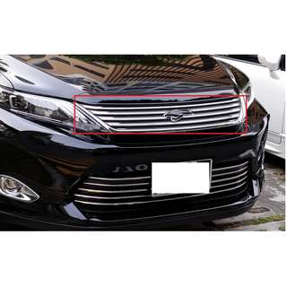 Original Toyota chrome grill with illuminated emblem for Toyota Harrier