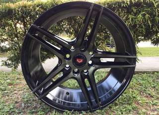 16in PCD 8H-100/114.3 Vossen Design Rims On Sale